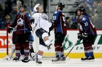 After last night's 8-1 loss to Edmonton, can things get any worse? (Photo from The Denver Post.)
